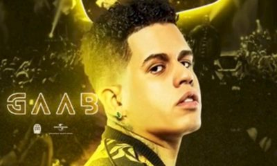 Gaab anuncia sua segunda live no YouTube nesta quarta-feira