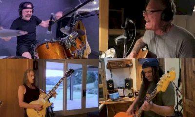 """Metallica grava o vídeo de """"Blackened 2020"""" na quarentena"""