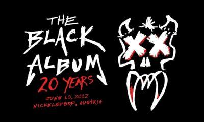 """Metallica disponibiliza concerto na Áustria onde reproduzem """"The Black Album"""" na íntegra"""