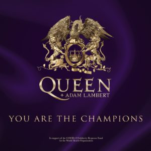 """Coronavírus: Queen e Adam Lambert lançam nova versão de clássico intitulada """"You Are The Champions"""""""