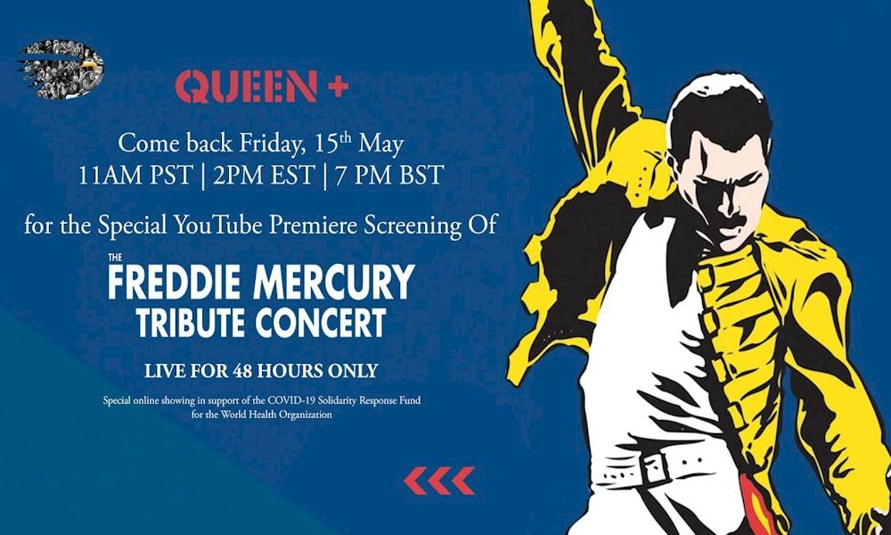 "Queen transmitirá show histórico ""Freddie Mercury Tribute Concert"" de 1992 no YouTube"