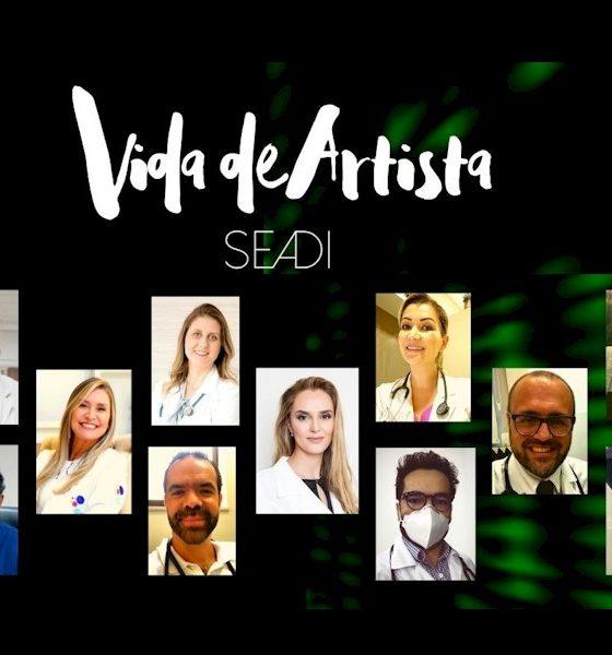 """Seadi lança versão acústica de """"Vida de Artista"""" em homenagem aos profissionais de saúde"""