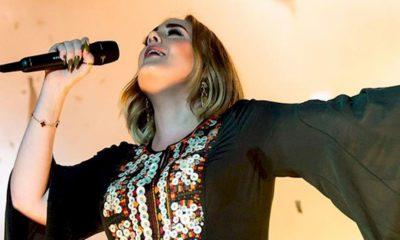"""Adele dá bronca em fã que pediu disco novo: """"Estou em quarentena"""""""