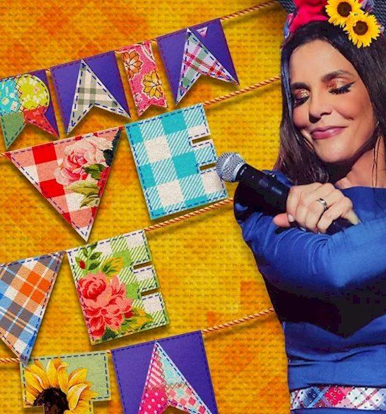 """Ivete Sangalo disponibiliza os vídeos do álbum """"Arraiá da Veveta"""""""