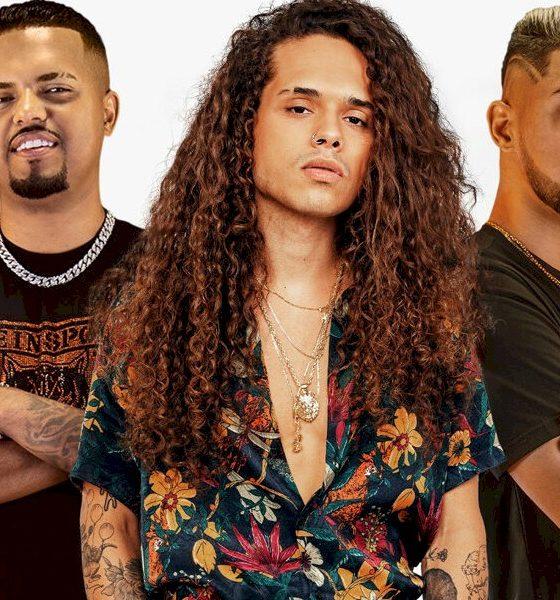 """JS O Mão de Ouro se une a Thiaguinho MT na versão brega funk de """"Embrasa"""", música de Vitão"""