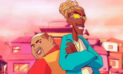 """Kevin O Chris e MC Kekel viram personagens de desenho animado em """"Vai Rabetão"""""""