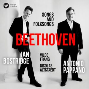 "Tenor Ian Bostridge celebra 250 anos de Beethoven no álbum ""Songs and Foksongs"""