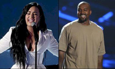 """Kanye West recebe apoio de Demi Lovato, que repreende fãs: """"Orem mais"""""""