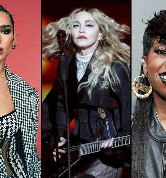 """Dua Lipa anuncia colaboração com Madonna e Missy Elliott no remix de """"Levitating"""""""
