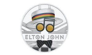 Reino Unido lança moeda em homenagem a Elton John