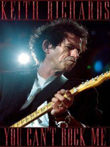 """Documentário sobre Keith Richards, """"You Can't Rock Me"""" será transmitido em julho na TV paga"""