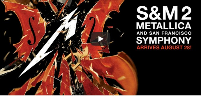 """Metallica divulga trailer de """"S&M2"""", disco ao vivo gravado em 2019"""