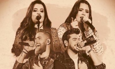 Nova dupla: Rayane & Rafaela assinam com a Som Livre e anunciam música com Zé Neto & Cristiano