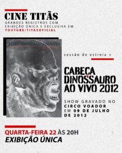 """Titãs lançam """"Cine Titãs"""", festival audiovisual de grandes obras da carreira"""