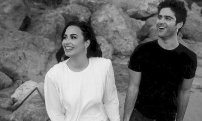 Demi Lovato elogia as novas músicas do noivo Max Ehrich
