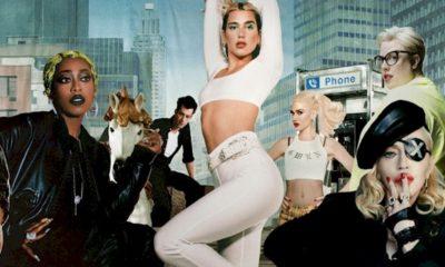 """""""Levitating"""" une constelação de estrelas: Dua Lipa, Madonna e Missy Elliott"""