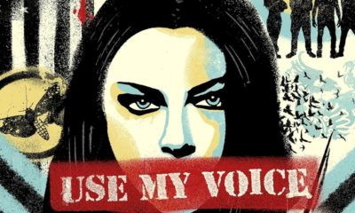 "Evanescence lança o novo single ""Use My Voice"""