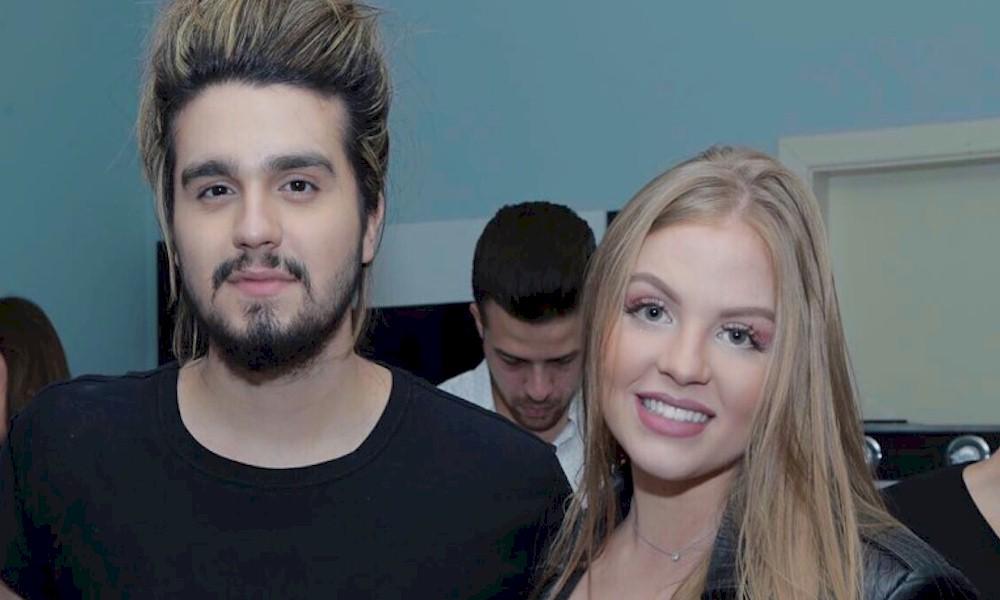 Luísa Sonza e Luan Santana estão em estúdio gravando nova colaboração