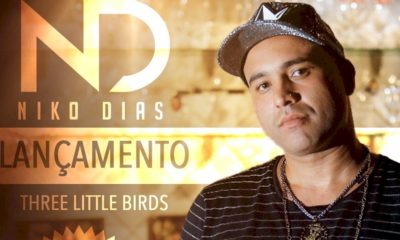 """Niko Dias anuncia novo releitura do clássico """"Three Little Birds"""" de Bob Marley"""