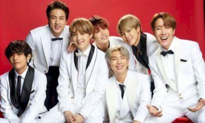 BTS é a primeira banda coreana a alcançar o topo da Billboard
