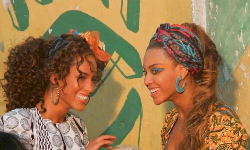 Alicia Keys garante em entrevista que tem um clipe gravado no Rio com Beyoncé. E vai disponibilizá-lo.