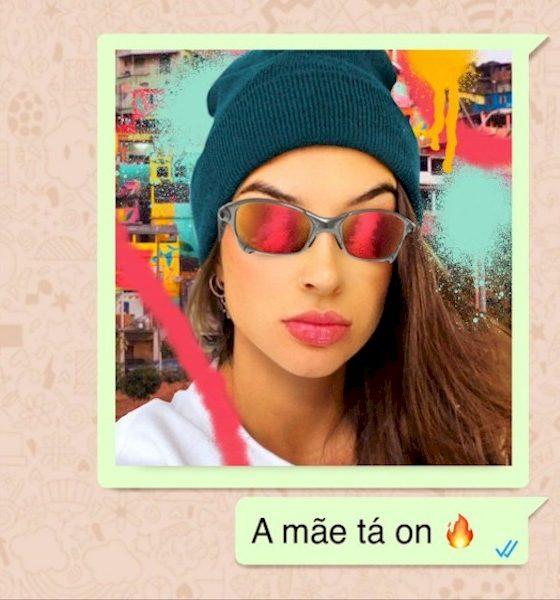 "No embalo do hit com Neymar, Barbara Labres lança single ""A Mãe Tá On"""