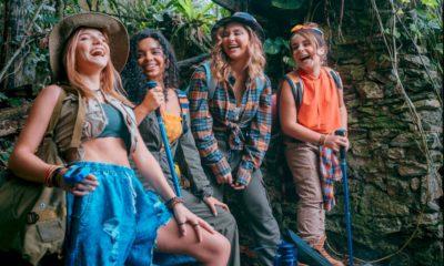 """Sienna grava clipe de """"Lembra Você"""" com o grupo BFF Girls"""