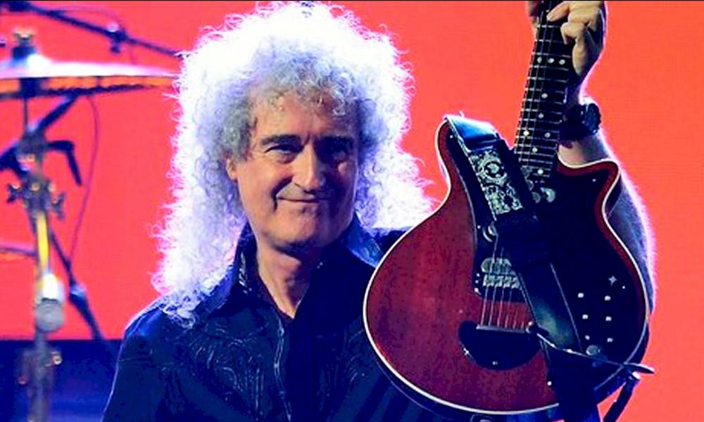 """""""Uma explosão estomacal quase me matou"""": o relato de Brian May do Queen"""
