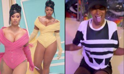 "Cardi B e Megan Thee Stallion divulgam vídeo de Anitta dançando ""WAP"""