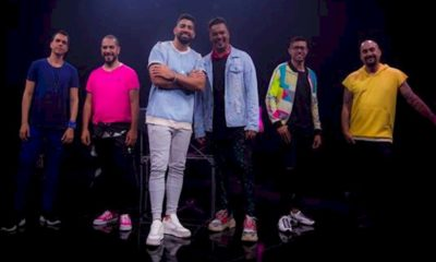 Dilsinho e Sorriso Maroto anunciam show drive-in nesta sexta-feira