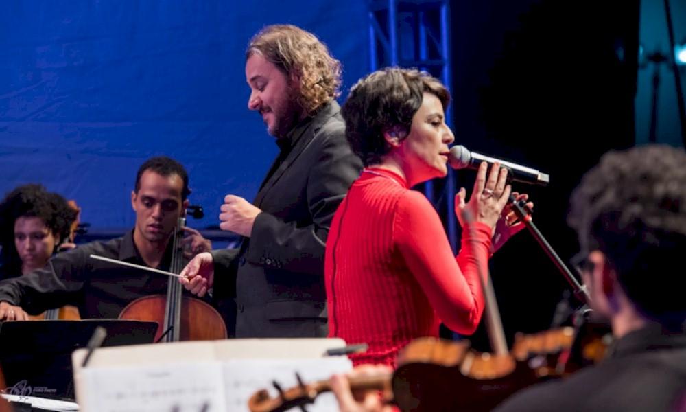 Fernanda Takai e Orquestra Ouro Preto se apresentam no Festival Cultural de Paracatu