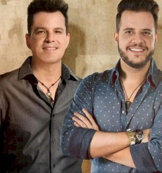 """João Neto e Frederico lançam o single """"Derruba"""" com Felipe Araújo"""