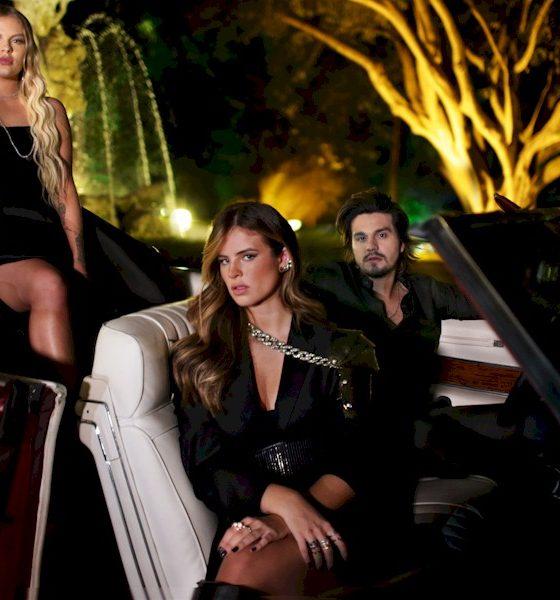 Luan Santana, Luísa Sonza e Giulia Be se juntam para ensaio fotográfico