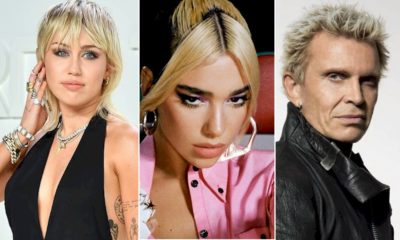 Miley Cyrus: novo álbum contará com Billy Idol e Dua Lipa