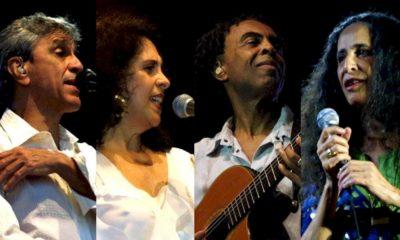 """Documentário """"Outros (doces) Bárbaros"""" marca o reencontro de Caetano Veloso, Gal Costa, Gilberto Gil e Maria Bethânia"""