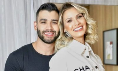 Gusttavo Lima e Andressa Suita tentam reconciliação, reporta colunista