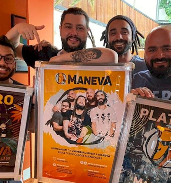 Maneva recebe 11 certificações de ouro, platina e diamante pela Universal Music