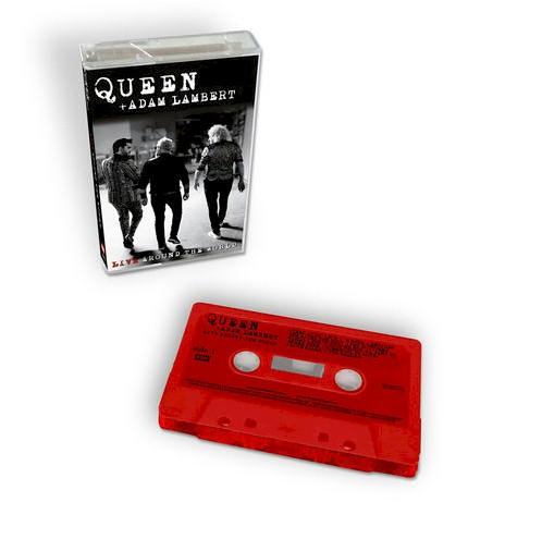 Queen: álbum ao vivo será lançado em fita cassete