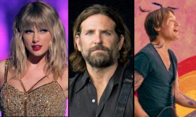 Taylor Swift, Bradley Cooper e Keith Urban leiloam instrumentos musicais em apoio às vítmas do coronavírus