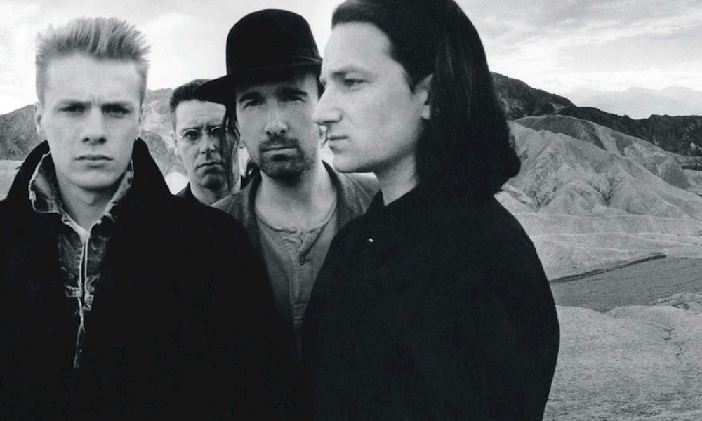 """U2: """"The Joshua Tree"""" é considerado o melhor álbum dos anos 1980 pela BBC Radio 2"""