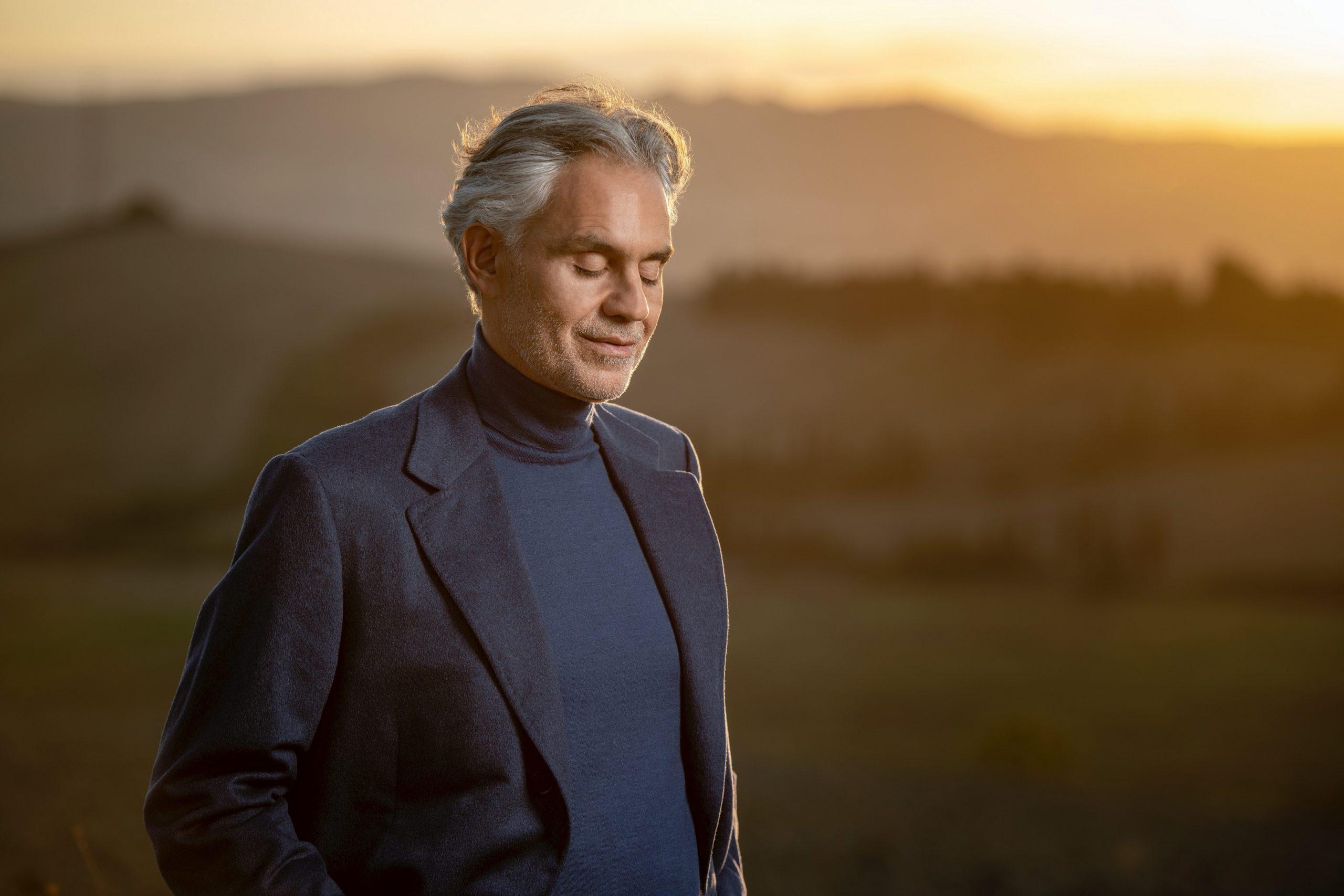 "Andrea Bocelli anuncia concerto global ""Believe in Christmas"""