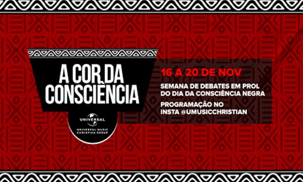 "EXCLUSIVO: Universal Music Christian Group promove ""A Cor da Consciência"""