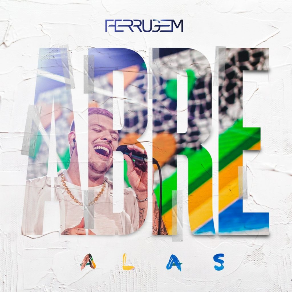 """EXCLUSIVO: Ferrugem divulga capa e tracklist de seu novo álbum """"Abre Alas"""""""