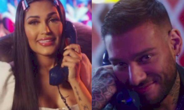 """Flay e Lucas Lucco anunciam parceria em teaser inspirado no filme """"A Dama e o Vagabundo"""""""