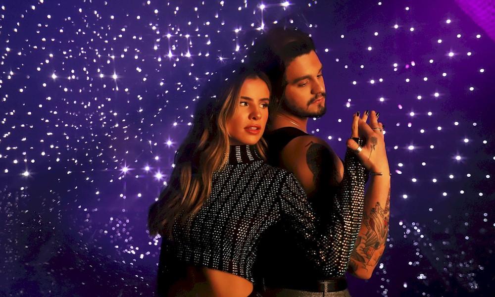 Giulia Be divulga video romântico com Luan Santana e fãs torcem por romance