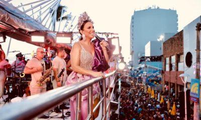 """Ivete Sangalo e seu entendimento sobre a festa do Carnaval: """"prioridade"""""""