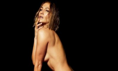 "Jennifer Lopez posa nua para a capa de ""In The Morning"""