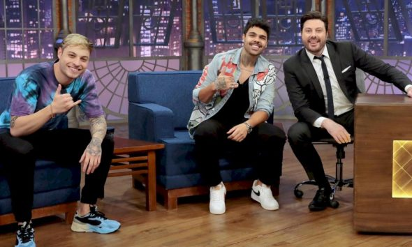 """Lucca e Mateus falam sobre inicio de carreira e single """"Explica Esse Rolê"""" na TV"""