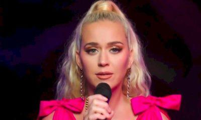 """Katy Perry canta """"Only Love"""" em evento da Unicef"""