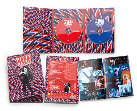 """Pitty anuncia DVD duplo com arquivos completos de """"MATRIZ"""""""